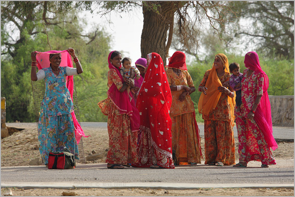Women Observing Ghoonghat