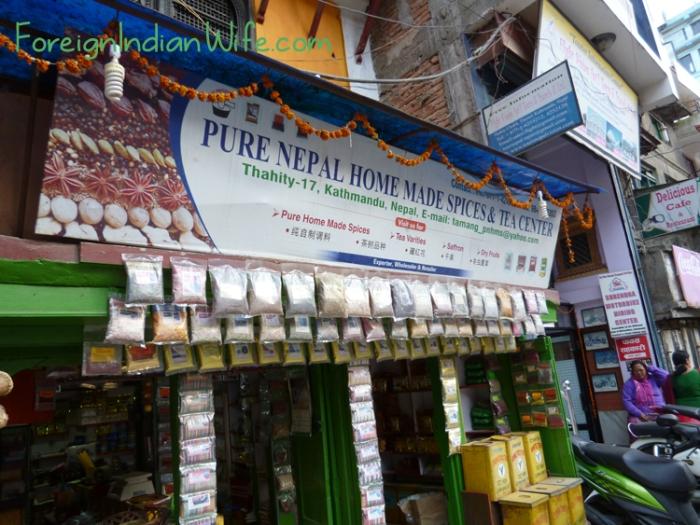 pure nepal home made spices tea center kathmandu