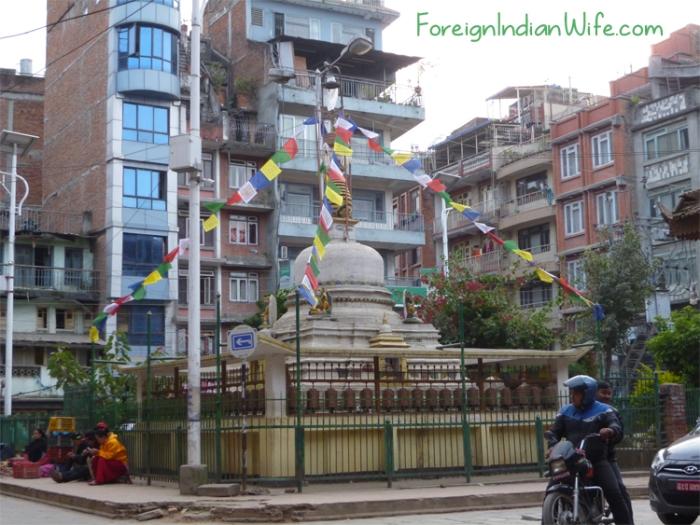 stupa buddhist temple kathmandu nepal