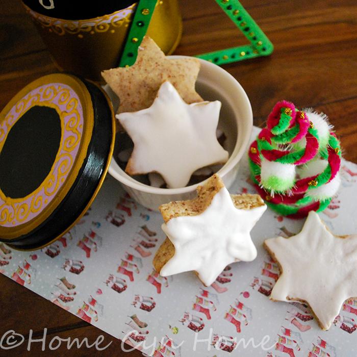 Zimsterne cinnamon star cookies